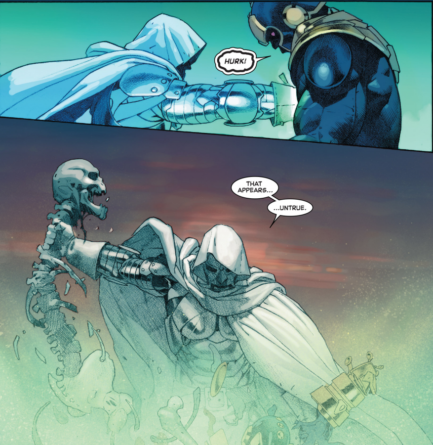 Thanos dies Secret Wars