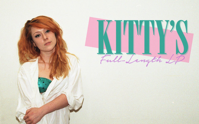 kitty crowd funding the shit out of her first album donate now