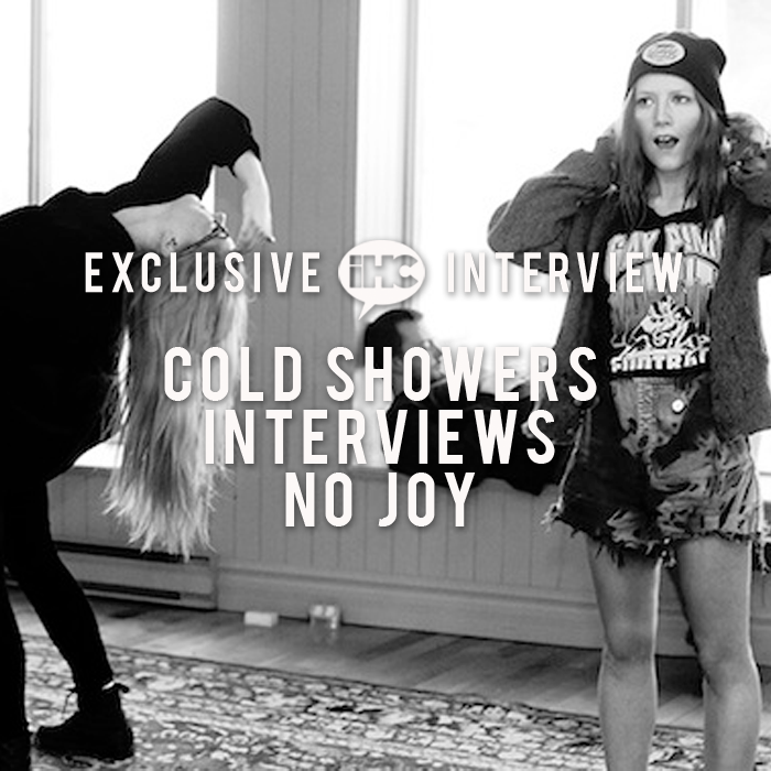 Exclusive Interviews Pictures More: Exclusive Interview: Cold Showers Interviews No Joy