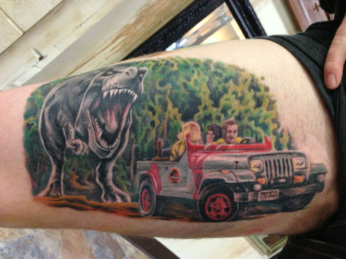 17c6b33a9 In Honor of Jurassic World, We Bring You The Best & Worst Dinosaur Tattoos