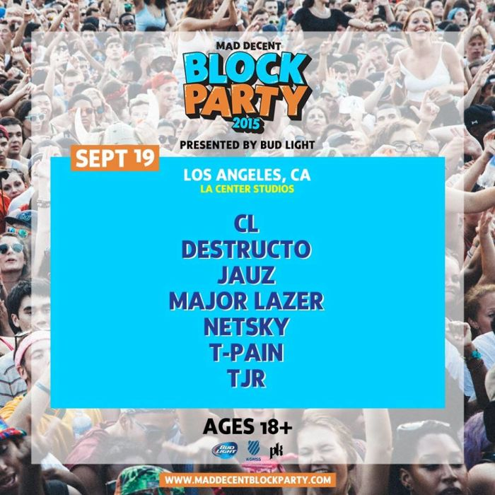 mad decent block party sept 19 2015 los angeles