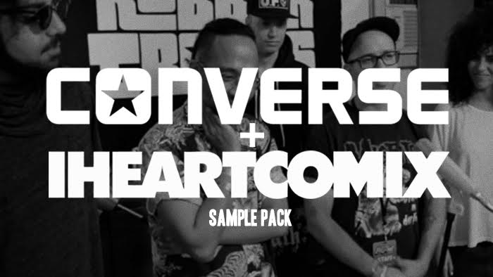 remix the iheartcomix ihc converse sample pack to win $1000 and more