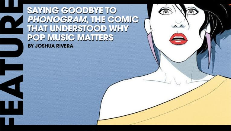 saying goodbye to phonogram, the comic that understood why pop music matters slider