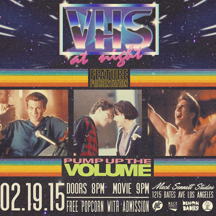 vhs night pump up the volume