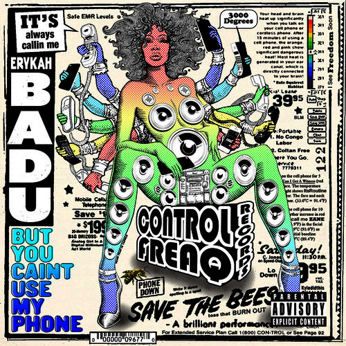 50 best albums 2015 erykah badu but you can't use my phone