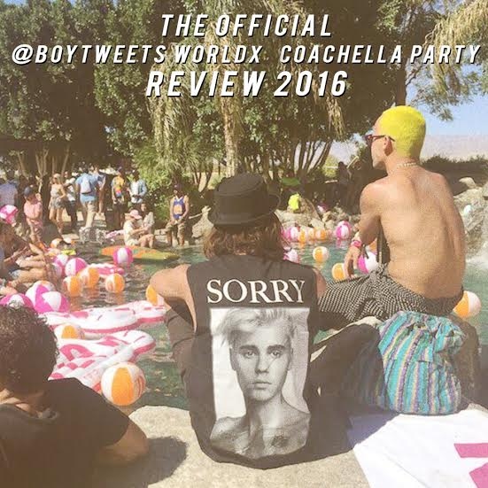 The Official Boytweetsworldx Coachella Party Recap 2016 Iheartcomix